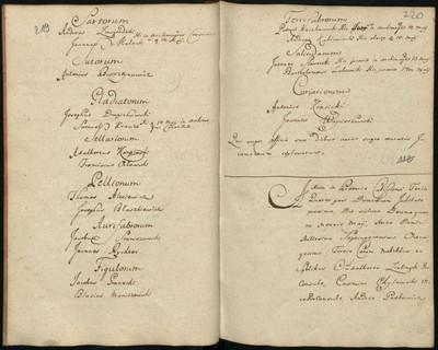 1.The Protocle from the Election of the Elders of the Guild in 1783 with the names of Jakub Staniszewski and Johann Richter as Goldsmith Masters (ArchiwumPaństwowe w Poznaniu, AktamiastaKalisza, sygn. K. m. I/183, Protocollonactorummproconsularium et consulariumcivitatis SacraeRegiaeMaiestatisCalissiensis, s. 219 sygn. K.m. I/33, s. 140, http://www.wbc.poznan.pl/dlibra)